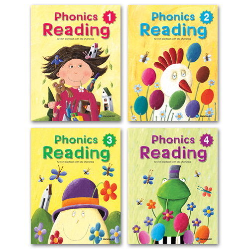 Phonics Reading 01~04 Set