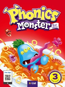 Phonics Monster Student Book 3 (2nd Edition)