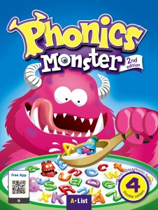 Phonics Monster Student Book 4 (2nd Edition)