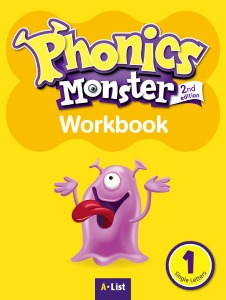 Phonics Monster Work Book 1 (2nd Edition)