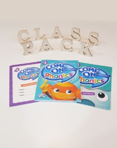 Come On, Phonics Class Pack 04
