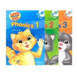 Let's Go Phonics Student Book With CD 1~3