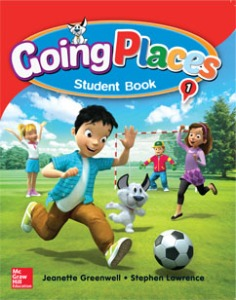 Going Places Level 1 Student Book with Workbook (NEW)