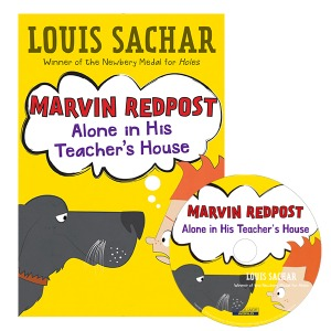 Marvin Redpost #4:Alone in His Teacher (B+CD)