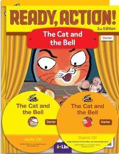 Ready, Action! Starter :The Cat and the Bell Pack [Drama Book (with Audio CD+Digital CD)+Workbook]
