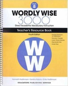 Wordly Wise 3000 4E 8 Teacher's Resource Book