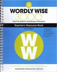 Wordly Wise 3000 4E 11 Teacher's Resource Book