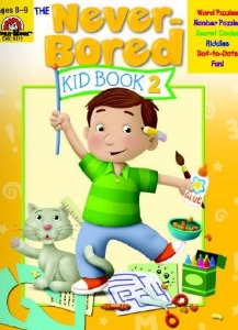 The Never-Bored Kid books 2 Ages 8-9