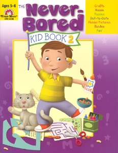 The Never-Bored Kid books 2 Ages 5-6