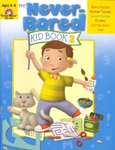 The Never-Bored Kid books 2 Ages 4-5