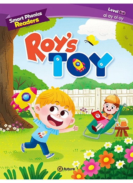 Smart Phonics Readers 5-2 : Roy's Toy